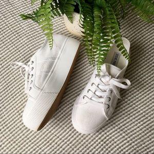 Steve Madden Emma Platform Canvas Sneakers